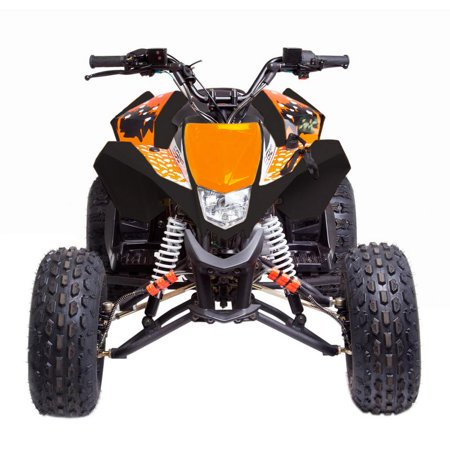 T4B MADMAX JUNIOR ATV 125cc KIDS Dirt Quad Recreational Outdoors, Off-Road, All Terrain, 4 stroke, single-cylinder, air-cooled - Orange - image 3 de 7