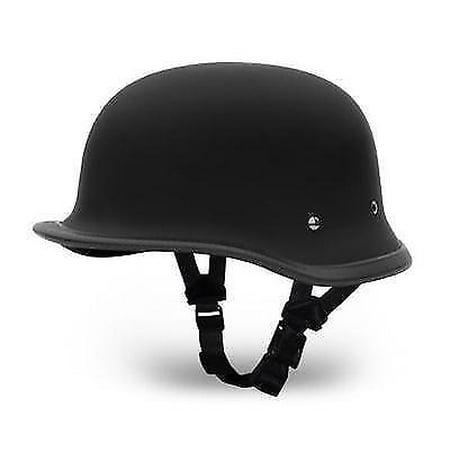Daytona German Novelty Big German Dull Gloss Black Motorcycle Helmets Novelty Motorcycle Helmet