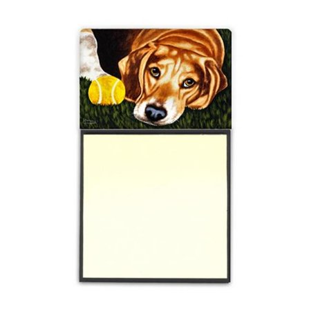 Carolines Treasures AMB1358SN Have Ball Will Travel Beagle Sticky Note Holder - image 1 of 1