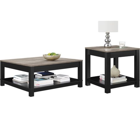 Bay Square End Table - Better Homes and Gardens Langley Bay Coffee Table with Better Homes and Gardens Langley Bay End Table, Multiple Colors