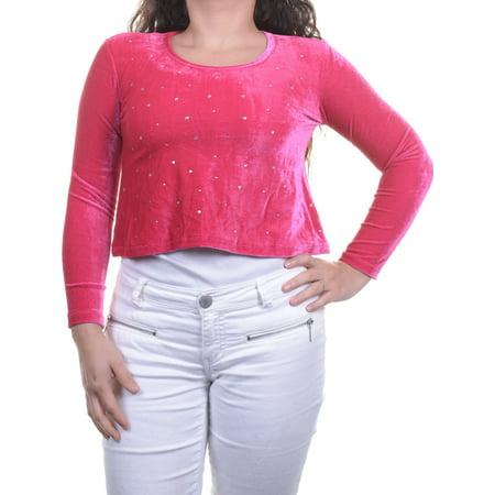 Miss Understood Long Sleeve Girls Embellished Top Size M