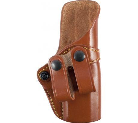 Gould & Goodrich 810 Inside Pants Holster, Brown, Right Hand For Glock 19, 23, by Gould & Goodrich