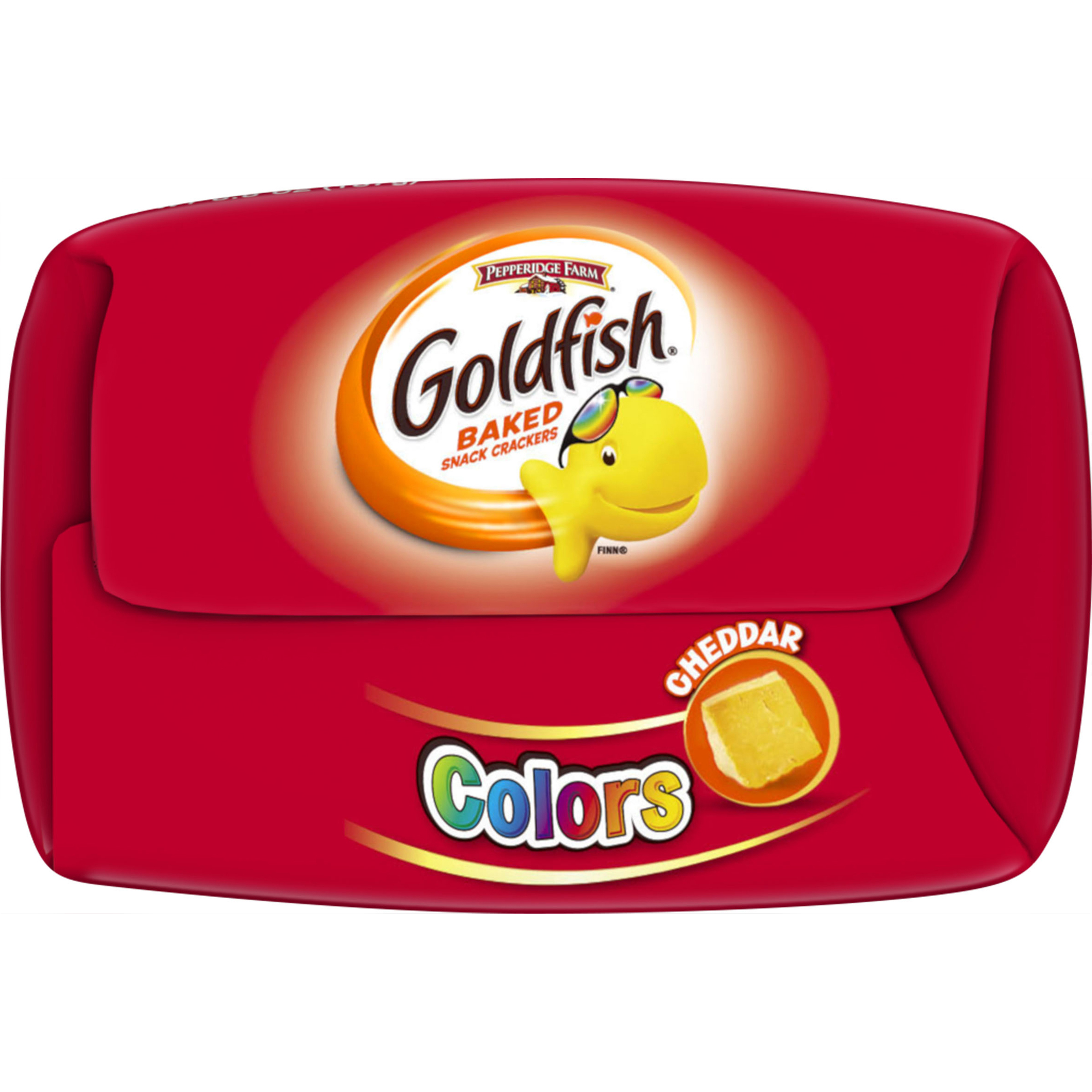 Pepperidge Farm Goldfish Colors Cheddar Crackers, 6.6 oz. Bag ...