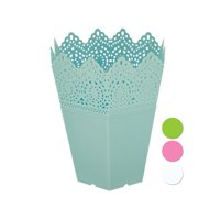 Decorative Hexagonal Multi-Use Flower Pot