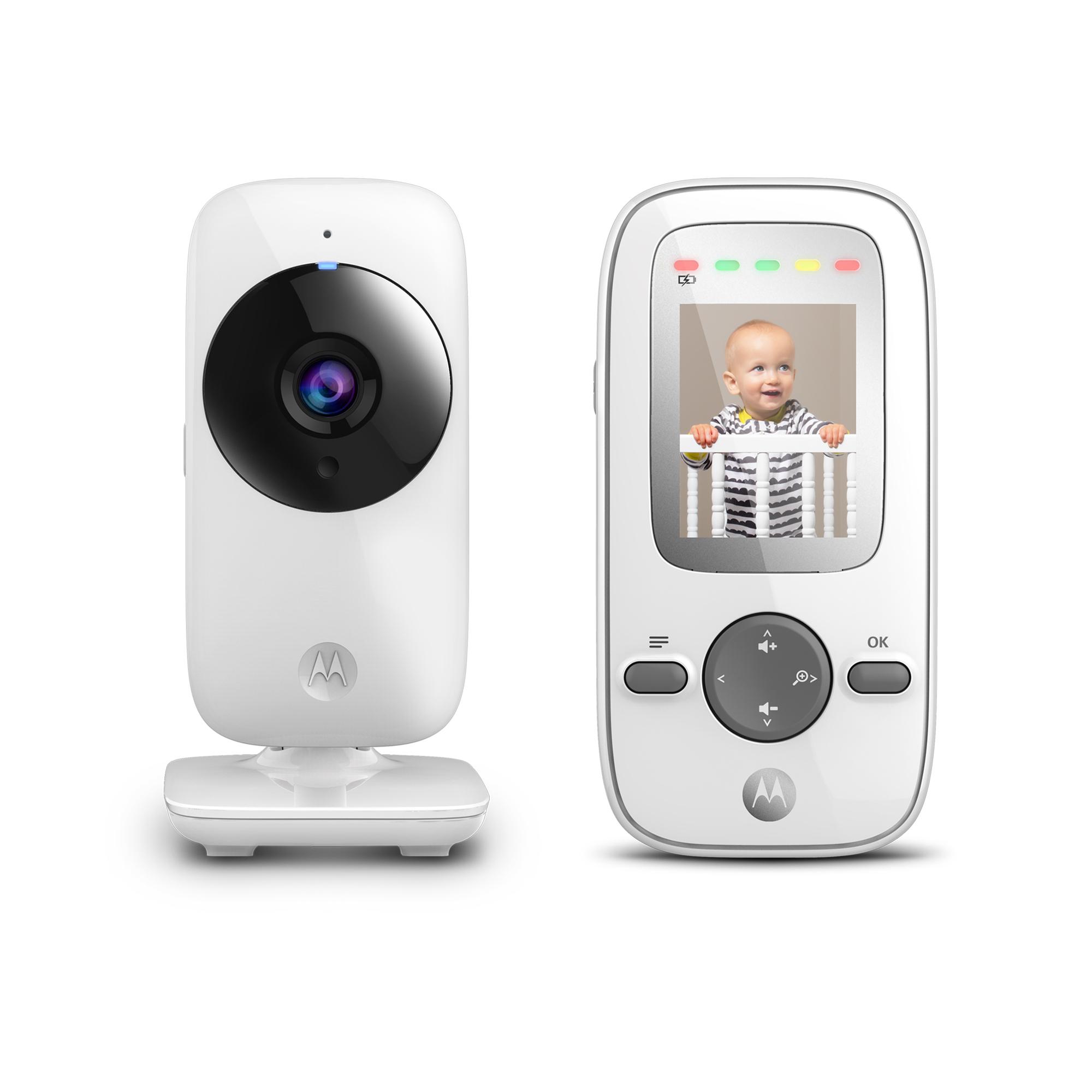 Motorola MBP481, Video Baby Monitor, Digital Zoom