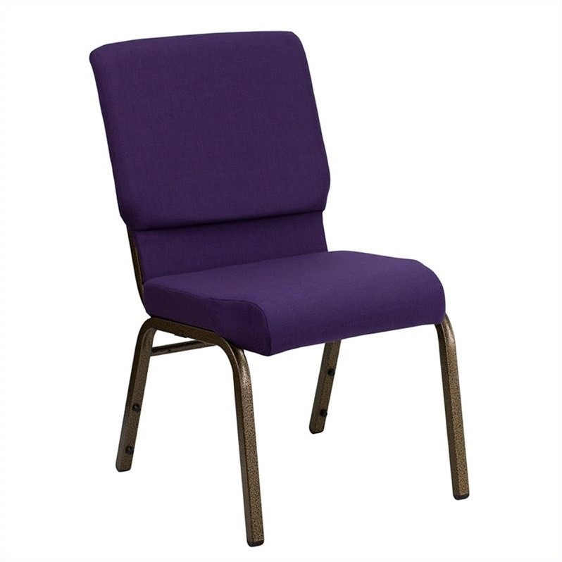 Upholstered Church Chair