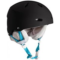 Bern - Womens Brighton Snow Helmet 2016, Satin Black, XS-S