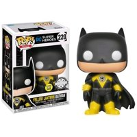 Funko POP! Heroes Yellow Lantern Batman Vinyl Figure [Glow-in-the-Dark]