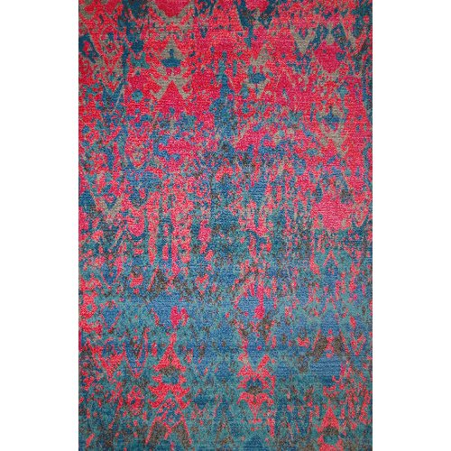 Latitude Run Vestavia Red Blue Area Rug Walmart Com