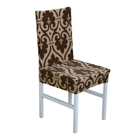 Removable Elastic Stretch Slipcovers Short Dining Room ...