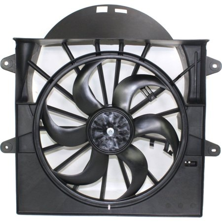 NEW RADIATOR FAN SHROUD ASSEMBLY FITS 2005-2008 JEEP GRAND CHEROKEE 5143208AA