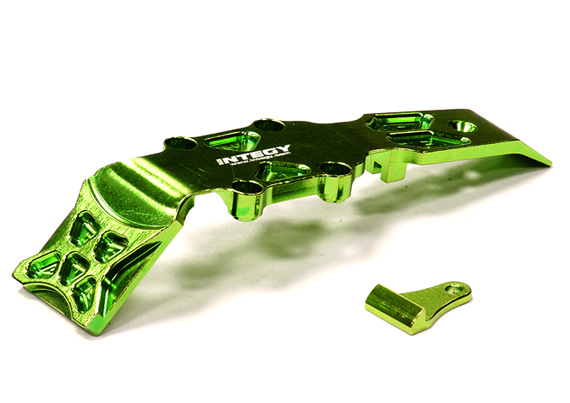 Integy RC Toy Model Hop-ups T3433GREEN Billet Machined Front Skid Plate for 1 16 Traxxas... by Integy
