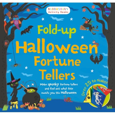 FOLD UP HALLOWEEN FORTUNES - Fortune Teller Halloween Decoration