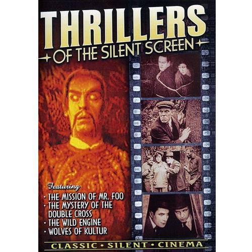 Thrillers Of The Silent Screen (Full Screen) by