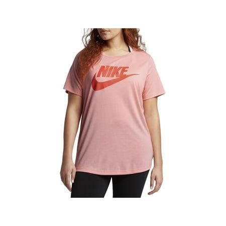 (Nike Womens Plus Futura Fitness Short Sleeves T-Shirt)
