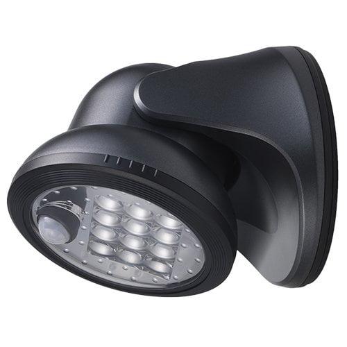 LIGHT IT 20034-104 12-LED Wireless Motion Sensor Weatherproof Porch Light, Charcoal, From USA,Brand Society6 by