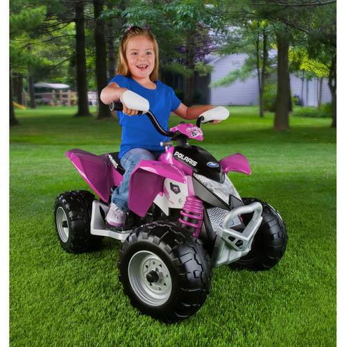Peg Perego Polaris Outlaw ATV 12-Volt Ride-On
