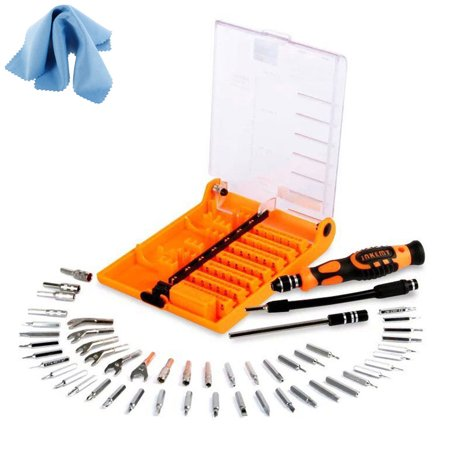 eeekit precision 52in1 screwdriver set repair maintenance kit tools for cell. Black Bedroom Furniture Sets. Home Design Ideas