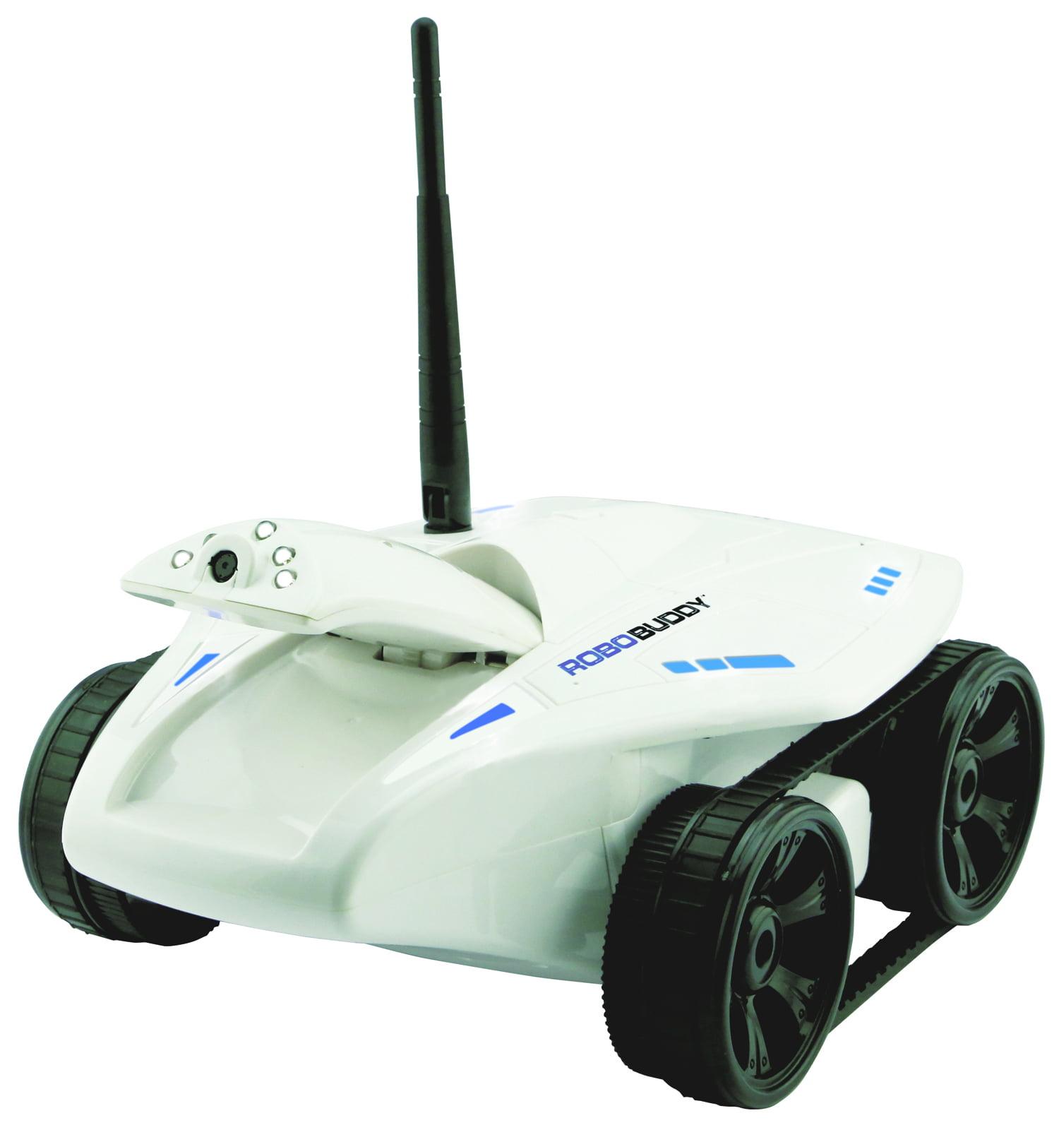 Wireless HD Wi-Fi Security Camera Robo Buddy Mobile Vehicle