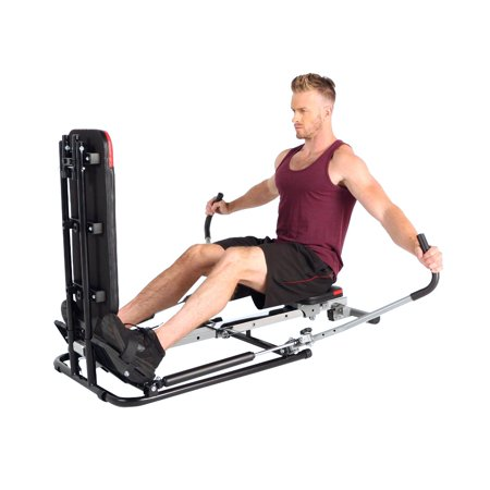 FITNESS REALITY 1000 ROWER with Extensive Additional Total Body Exercise