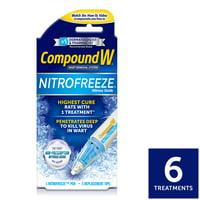 Compound W NitroFreeze Wart Remover, Maximum Freeze, 6 Applications