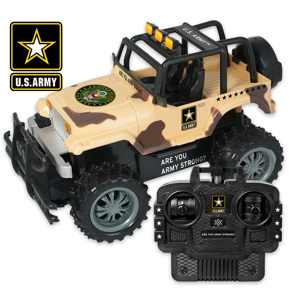 US Army Strong RC Armored Truck SWAT All-Terrain Vehicle with Remote Control