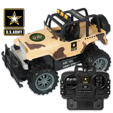 Us Army Strong Rc Armored Truck Swat All Terrain Vehicle With Remote Control
