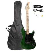 Glarry Basswood Beginner Electric Guitar w/ Bag Accessories 8 Colors