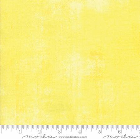 Moda Fabrics Basic Grey Grunge Basics Lemon Drop Yellow 31050-321 Cotton Fabric