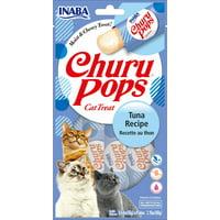Inaba Churu Pops Moist & Juicy Cat Treat, 24 Tubes (6 Packs of 4 Tubes)