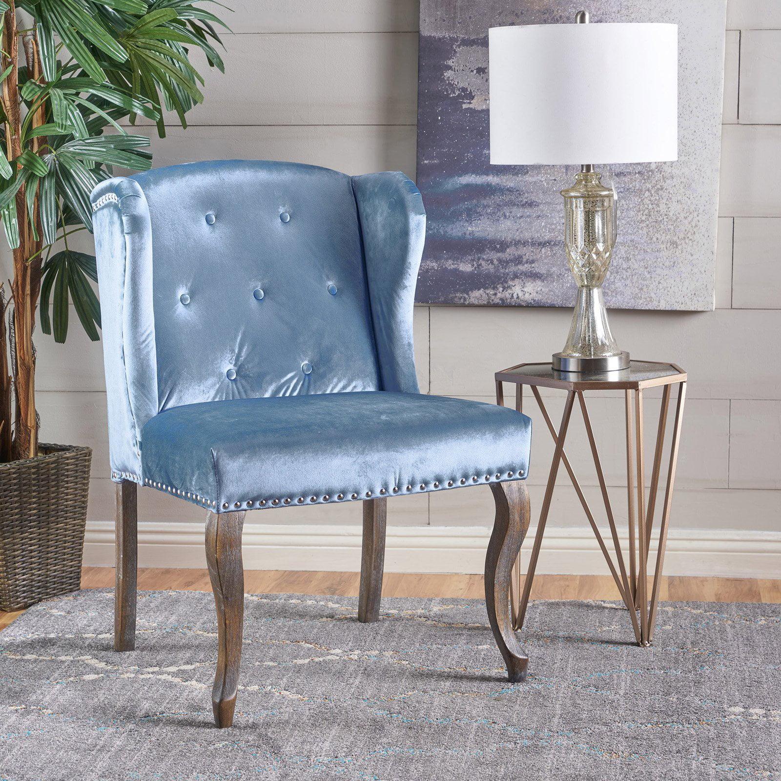Greek Velvet Chair