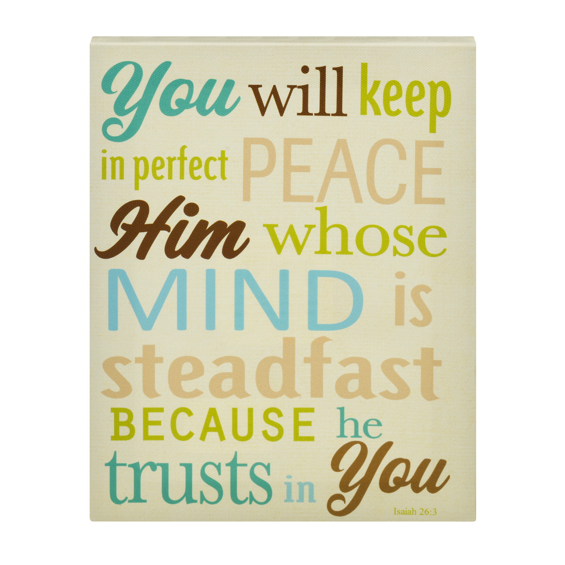 You Will Keep Him In Perfect Peace, 1.0 CT
