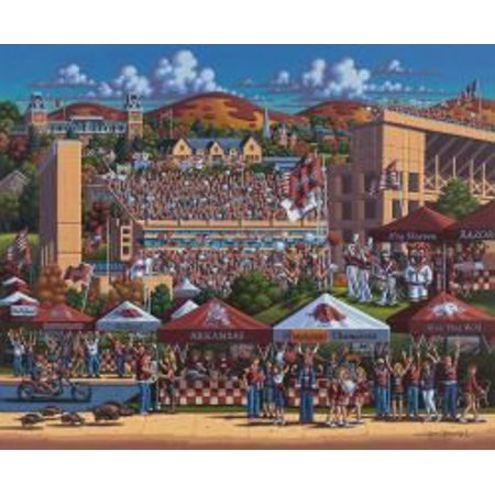 Jigsaw Puzzle Arkansas Razorbacks 500 Piece Puzzle By