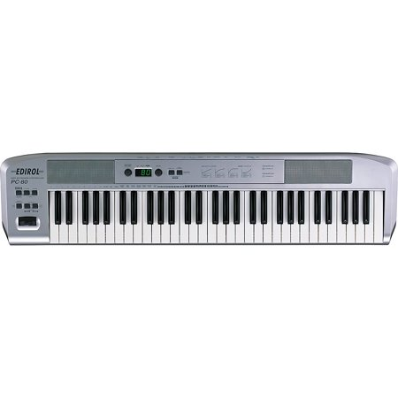 Edirol PC-80 USB MIDI Controller with Software Instrument