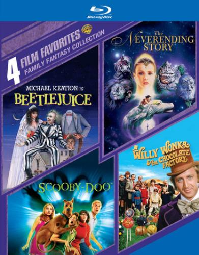 4 Film FAVORITES-FAMILY FANTASY COLLECTION (DVD 4 DISC) (Blu-ray) by WARNER HOME VIDEO