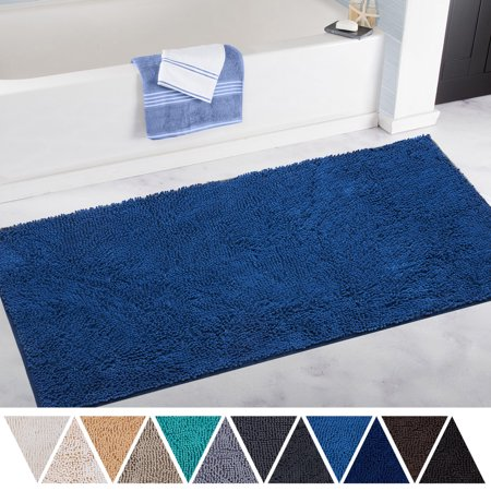 Deartown Bath Mat Runner For Bathroom Rugs Long Floor Mats