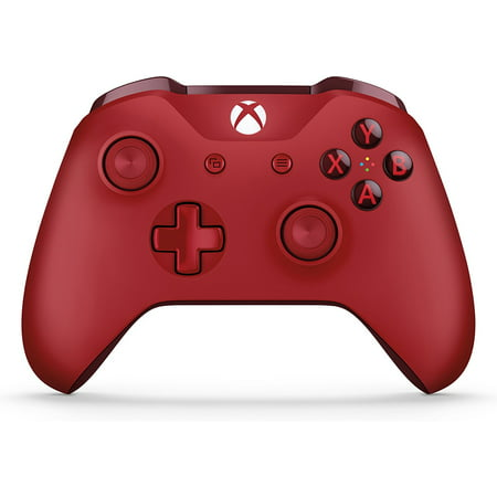 Microsoft Xbox One Wireless Controller, Red,