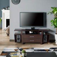 Furniture of America Lyle Contemporary Espresso Brown TV Stand