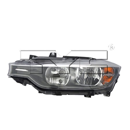 - 2012-2015 BMW 328i xDrive  Aftermarket Driver Side Front Head Lamp Assembly 63117338709