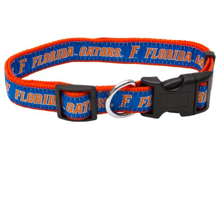 Pets First College Florida Gators Pet Collar, 3 Sizes Available, Sports Fan Dog (Alligator Dog Collar)