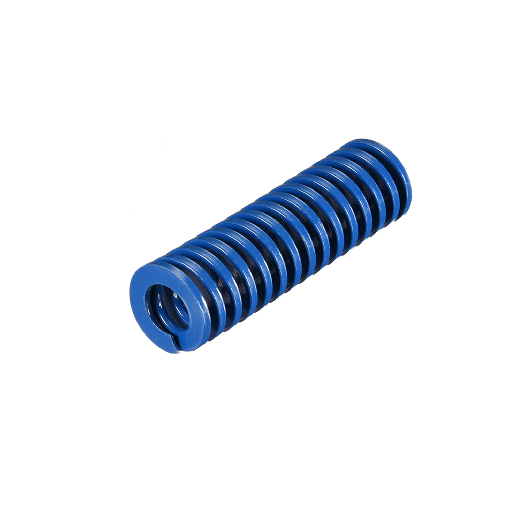 20mm OD 65mm Long Spiral Stamping Light Load Compression Mould Die Spring Blue 1Pcs - image 2 of 2