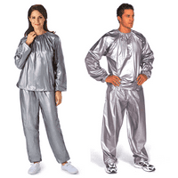 Max Burn Unisex Sauna Suit - Heavy Duty Sweat Suit Sauna Exercise Gym Suit Fitness, Weight Loss, and Anti-Rip