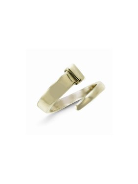 Solid Brass Adjustable Nail Ring