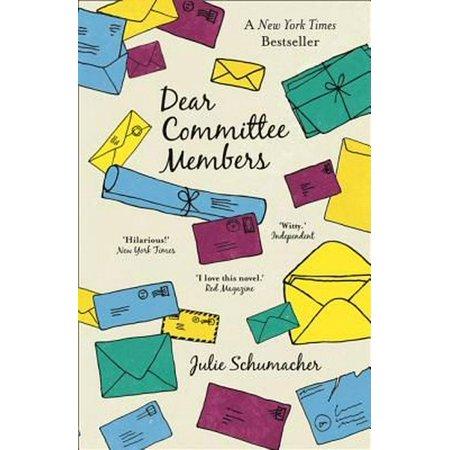 Dear Committee Members (Paperback)
