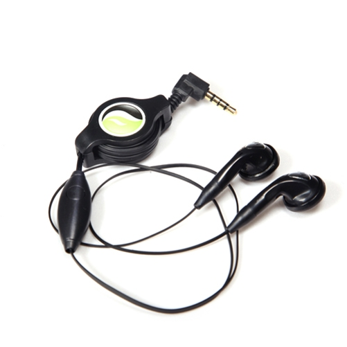 Retractable Headset Hands-free w Mic for Amazon Kindle Fire HDX 8.9 7 HD 8.9 7 6, DX, 8 10 - iPod Touch 5 4th Gen 3rd Gen 2nd Gen 1st Gen Nano 7th Gen 5th Gen, iPad Pro 9.7 12.9, Mini 4