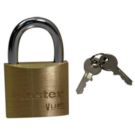 Master Lock Keyed Alike Wide Body 4-pin Tumbler Lock 1.5 12 Ct 4140KA Pack Of 12