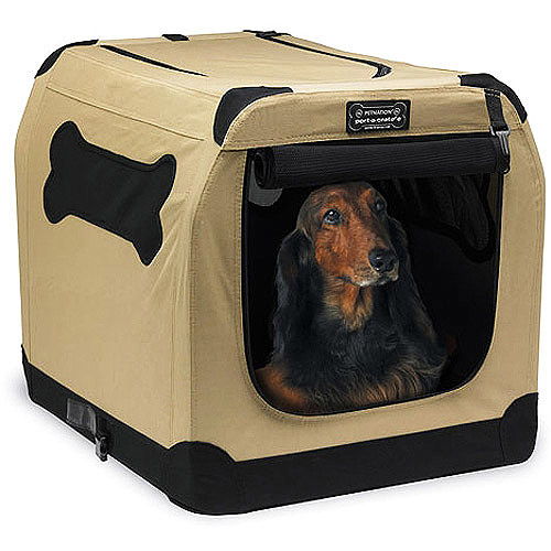 Petnation Port-A-Crate Indoor & Outdoor Home for Pets, 32-Inch