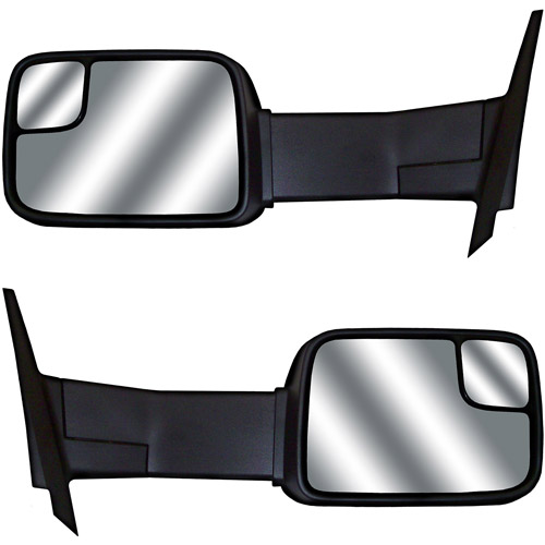 CIPA 73700 Dodge Ram Magna Extendable Power Replacement Towing Side Mirrors (Sold in Pairs)