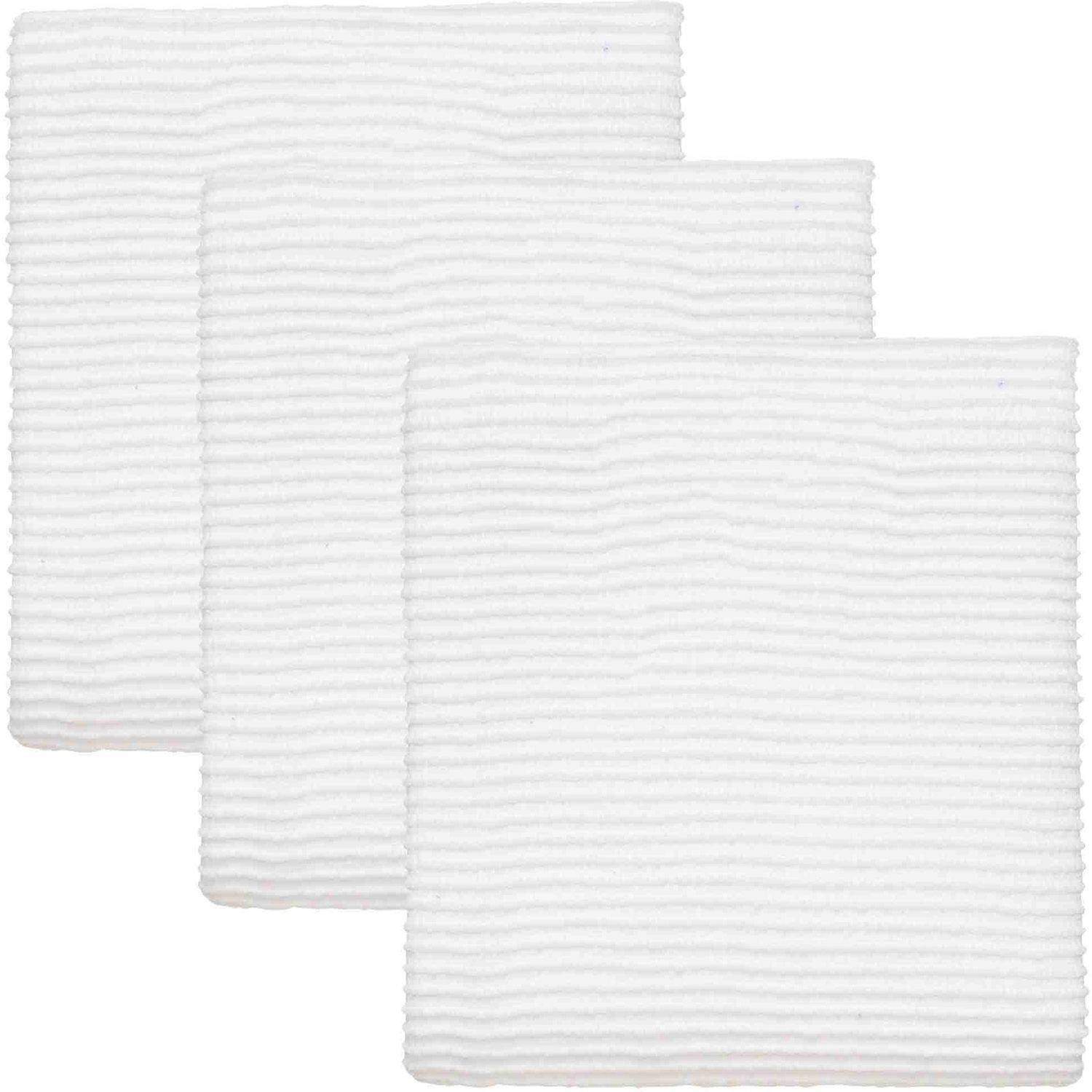 Now Designs Cotton Ripple Kitchen Towels, Set of 3