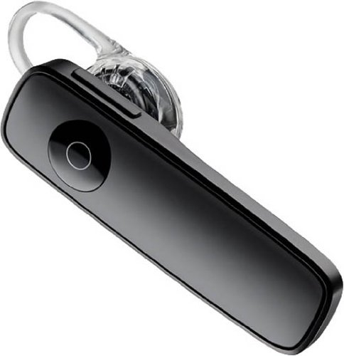 Plantronics Marque 2 M165 Mobile Bluetooth Headset - Mono - Wireless - Bluetooth - 33 Ft - Earbud, Over-the-ear - Monaural - Outer-ear - Noise Reduction Microphone (m165-bk)